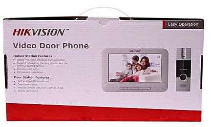 Hikvision Analog video doorphone set DS-KIS202