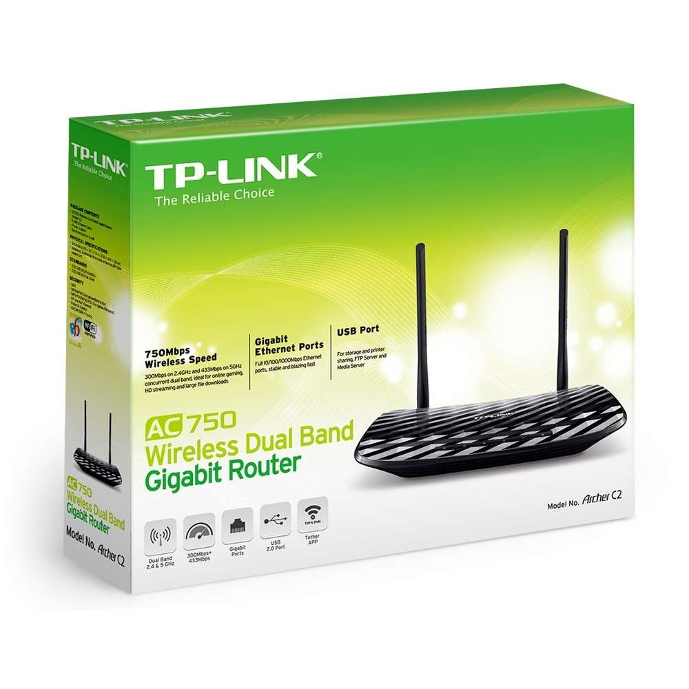 Firmware Upgrade TP-LINK AC 750 Dual Band Wireless Archer C2