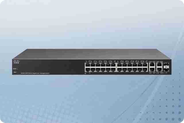 Cisco SF300-24PP 24-Port 10//100 PoE Managed Switch with Gigabit Uplinks SF300-24PP-K9-NA