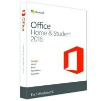 Microsoft Office Home And Student 2016 Win English Africa Only Medialess P2